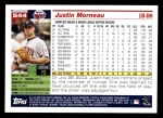 2005 Topps #544  Justin Morneau  Back Thumbnail