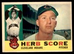1960 Topps #360  Herb Score  Front Thumbnail