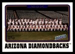 2005 Topps #639   Arizona Diamondbacks Team Front Thumbnail