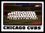 2005 Topps #643   Chicago Cubs Team Front Thumbnail