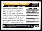 2005 Topps #660   Pittsburgh Pirates Team Back Thumbnail