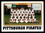 2005 Topps #660   Pittsburgh Pirates Team Front Thumbnail