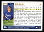 2005 Topps #668  Billy Butler  Back Thumbnail