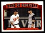 2005 Topps #693  Jerry Hairston Jr. / Scott Hairston  Front Thumbnail
