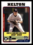 2005 Topps #706   -  Todd Helton Golden Glove Front Thumbnail