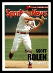 2005 Topps #722   -  Scott Rolen All-Star Front Thumbnail