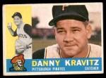 1960 Topps #238  Danny Kravitz  Front Thumbnail