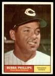 1961 Topps #101  Bubba Phillips  Front Thumbnail