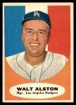 1961 Topps #136  Walter Alston  Front Thumbnail