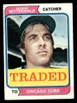 1974 Topps Traded #249 T  -  George Mitterwald Traded Front Thumbnail