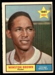 1961 Topps #391  Winston Brown  Front Thumbnail