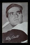 1962 Exhibits Stat Back  Rocky Colavito  Front Thumbnail