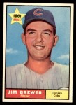 1961 Topps #317  Jim Brewer  Front Thumbnail
