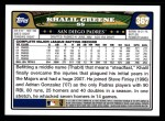 2008 Topps #367  Khalil Greene  Back Thumbnail