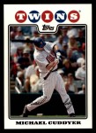 2008 Topps #393  Michael Cuddyer  Front Thumbnail