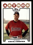 2008 Topps #404  Cecil Cooper  Front Thumbnail