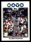 2008 Topps #491  Cliff Floyd  Front Thumbnail