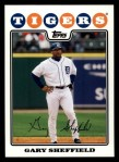2008 Topps #620  Gary Sheffield  Front Thumbnail