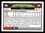 2008 Topps #87  Maicer Izturis  Back Thumbnail