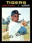 1971 Topps #120  Willie Horton  Front Thumbnail