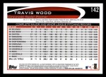 2012 Topps #142  Travis Wood  Back Thumbnail