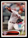 2012 Topps #150  Roy Halladay  Front Thumbnail