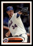 2012 Topps #214  Mike Pelfrey  Front Thumbnail