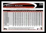 2012 Topps #255  Scott Rolen  Back Thumbnail