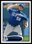 2012 Topps #409  Greg Holland  Front Thumbnail