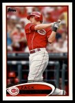 2012 Topps #557  Zack Cozart  Front Thumbnail