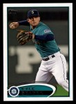 2012 Topps #645  Kyle Seager  Front Thumbnail