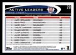 2012 Topps #29   -  Livan Hernandez / Roy Oswalt / Randy Wolf Active NL Wins Leaders Back Thumbnail
