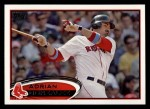 2012 Topps #50  Adrian Gonzalez  Front Thumbnail