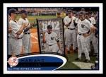 2012 Topps #109   -  Mariano Rivera Record Breaker Front Thumbnail