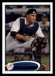 2012 Topps #237  Russell Martin  Front Thumbnail