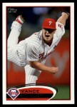 2012 Topps #307  Vance Worley  Front Thumbnail