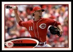 2012 Topps #308  Mike Leake  Front Thumbnail