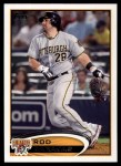 2012 Topps #391  Rod Barajas  Front Thumbnail