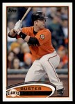 2012 Topps #398  Buster Posey  Front Thumbnail