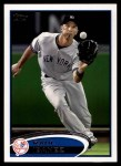 2012 Topps #554  Raul Ibanez  Front Thumbnail