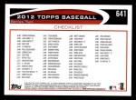 2012 Topps #641   -  Derek Jeter Record Breaker Back Thumbnail