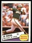 1985 Topps #5  Joe Morgan  Front Thumbnail