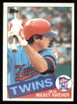 1985 Topps #18  Mickey Hatcher  Front Thumbnail