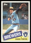 1985 Topps #32  Chuck Porter  Front Thumbnail