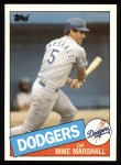 1985 Topps #85  Mike Marshall  Front Thumbnail
