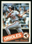 1985 Topps #109  Gary Roenicke  Front Thumbnail