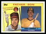 1985 Topps #135  Terry Kennedy / Bob Kennedy  Front Thumbnail