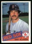 1985 Topps #259  Gary Allenson  Front Thumbnail