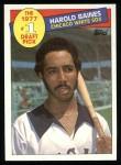 1985 Topps #275  Harold Baines  Front Thumbnail