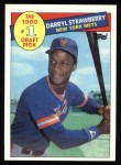 1985 Topps #278  Darryl Strawberry  Front Thumbnail